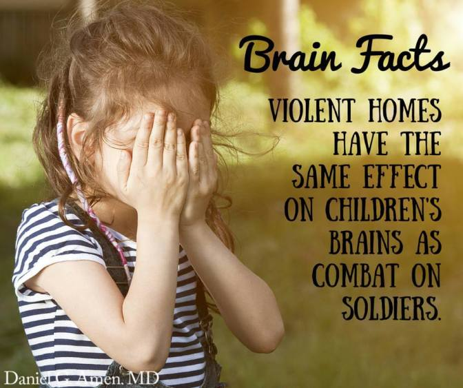 Violent homes and PTSD